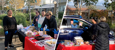 To celebrate mothers (and carers) of their students in the lead up to Mother's Day on Sunday, the staff hosted a 'Mother's Day Drive-Through Breakfast'.