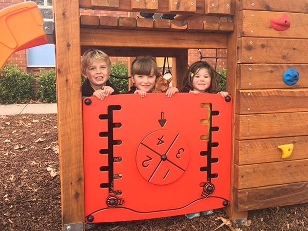 New Campbell playground