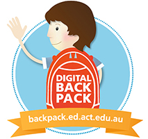 digital backpack logo