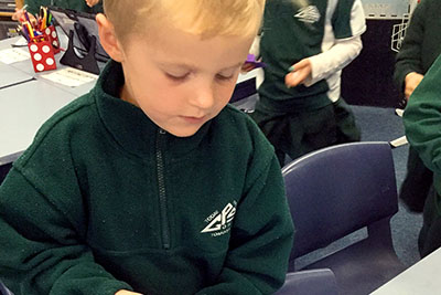 A child's love of science starts well before they enter the high school science lab and light up the Bunsen burner. It starts with the first fallen Autumn leaf scrunched in a tiny hand or putting together their first Lego house.