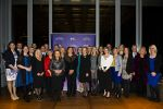 Group photo of all 2015 finalists with Minister for Education and Training, Joy Burch MLA and Education and Training Directorate Director-General, Diane Joseph