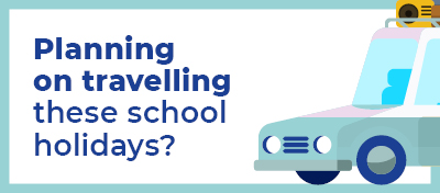 School holidays is a time when families often travel together to get a well-earned break. However, travel in 2020 is a little bit different and everyone needs to be aware of the most recent COVID-19 advice.