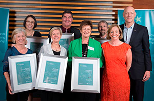 Photo of ACT finalists in the 2012 Australian Awards for Outstanding Teaching and School Leadership