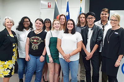 Sixteen Aboriginal and Torres Strait Islander students were recently presented with scholarships by the Education Directorate to help them further their study.