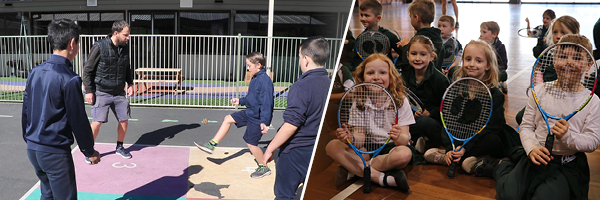 Primary school teachers team up to bring virtual PE to students for HPE Day