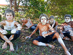 Photo of students of Jervis Bay School Dance Group