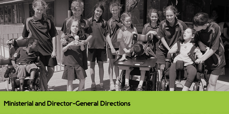 SECTION H Ministerial and Director-General Directions