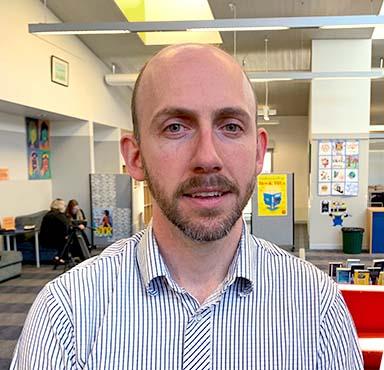 Royce Vagg teacher spotlight image