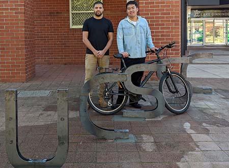 UCSSC bike rack