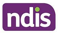 NDIS purple logo