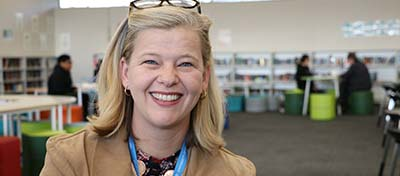 Enrolling at the University of Canberra, Rae embarked on her teaching degree and through the University of Canberra Affiliated Schools Program, is now doing a pre-service teacher professional experience placement at Mount Stromlo High School.