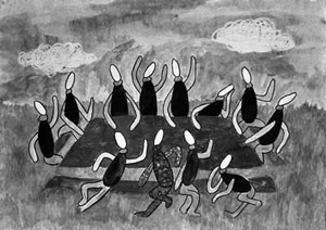 Isha Hekkert Menon's artwork The Picnic