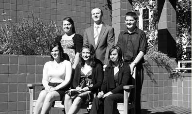 The recipients for The Aboriginal and Torres Strait Islander Student Scholarship Program 2011, pictured with the Minister for Education and Training Mr Andrew Barr