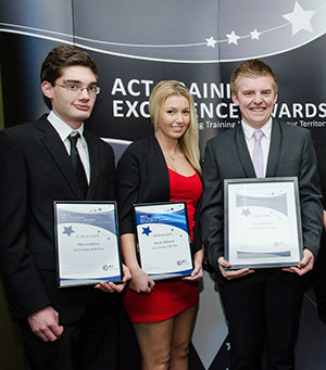 Photo of the 2012 ACT Training Excellence Awards winners