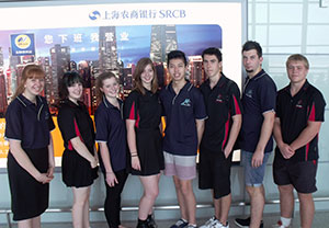 Group photo of secondary students at the Asia Pacific Young Student Leaders Convention 2013