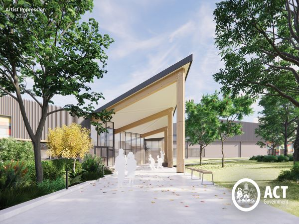 Construction starts on Canberra's 90th public school