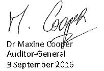 signature of Maxine Cooper