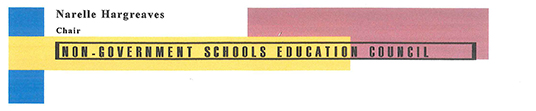 Non-government Schools Education Council letterhead